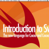 First Video Tutorial about the Apple swift programming language