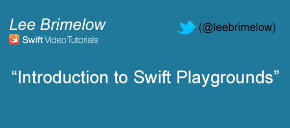Introduction to Swift Playgrounds