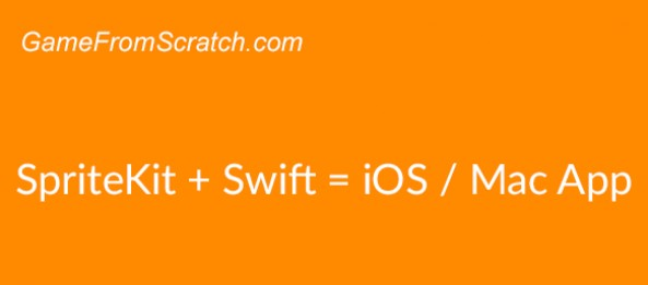 Building a simple iOS/Mac OS App with Swift and SpriteKit