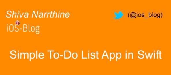 Building a To Do List App